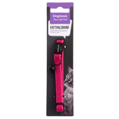 10154501 dogman katthalsband glitter rosa pingla 18 30 x 1 cm