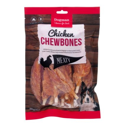 10310433 dogman chicken chewbone 12 pack 240gr