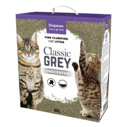 10718500 kattsand classig grey 10l dogman