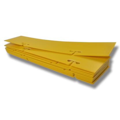 21271425 swedguard varningskyltar gula utan text plast