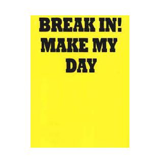 23750113 skylt gul plast break in make my day 11x15cm 30gr wpp1587548367517