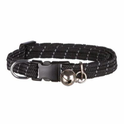 4131050 jolly paw katthalsband reflex pingla svart