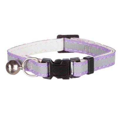 4241686 halsband reflex kattunge junior trixie 16 28cm lila wpp1585924664167