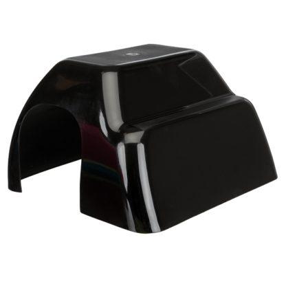 4261343 kaninhus plast 29x19x33cm svart wpp1588092615803