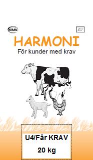 50490 harmoni u4 far krav 20kg