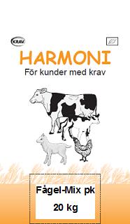 50594 harmoni fagel mix 20kg