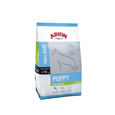 9105500 arion puppy small chicken rice 7 5kg