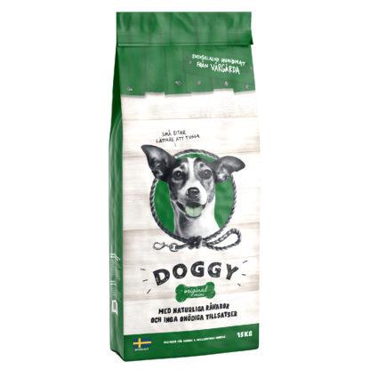 doggy orginal mini grön 15kg säck