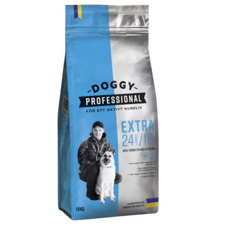 doggy professional extra blå 15kg säck