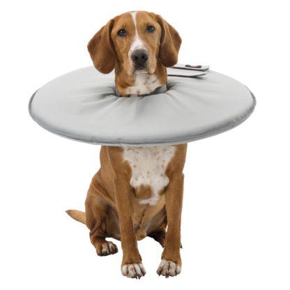 trixie halskrage hundkrage polyester mjuk gra wpp1587193548790