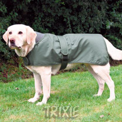 trixie hundtacke lyon gron