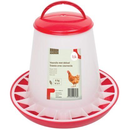 906136 tok daily foderautomat plast rod 6kg wpp1589382127766