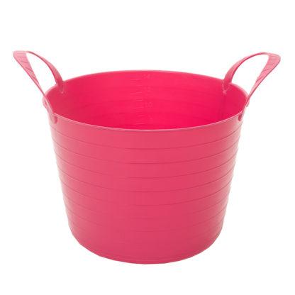 17599865 globus. korg v trug flexi 14l rosa