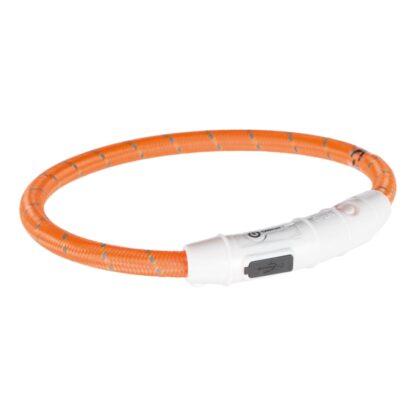 4212703 trixie flash light ring usb orange xs s 0.7x35cm wpp1595412359918