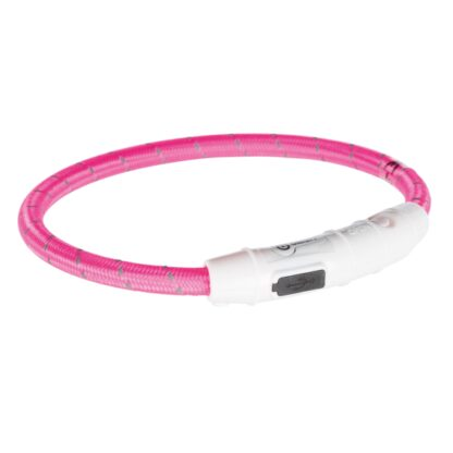 4212706 trixie flash light ring usb rosa xs s 0.7x35cm wpp1595413238236