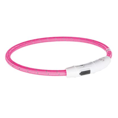 4212707 trixie flash light ring usb rosa m l 0.7x45cm wpp1595413373543