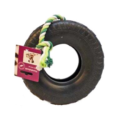 186868 nbaab hundlek dack med rep 20cm svart