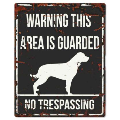 25840711 d d home skylt area is guarded rottweiler svart wpp1597830979191
