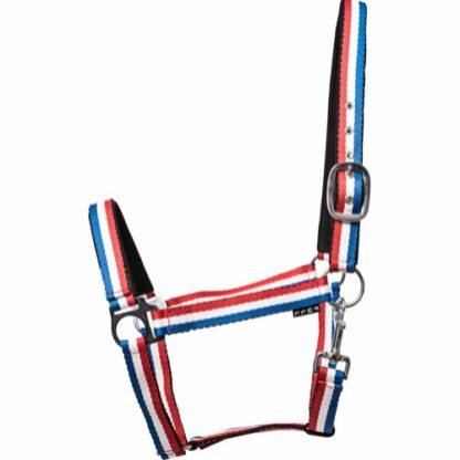 41125046 horse guard grimma icelandic rod vit bla nylon