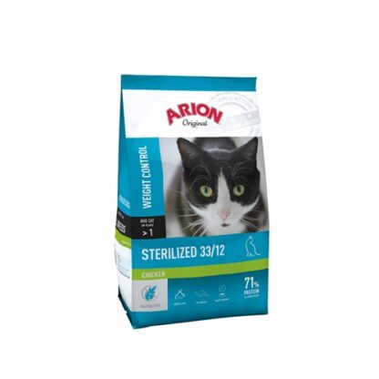 105865 arion original cat sterilized chicken 7.5kg