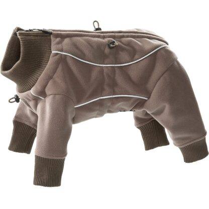 hurtta vattentat fleeceoverall waterproof fleece overall brown brun wpp1600246699845