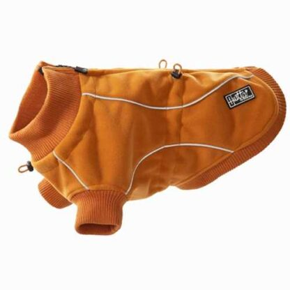 hurtta waterproof fleece jacket vattentat fleecejacka orange