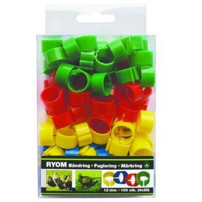 ryom markringar hons 12mm 100 pack mixade farger wpp1602158615657