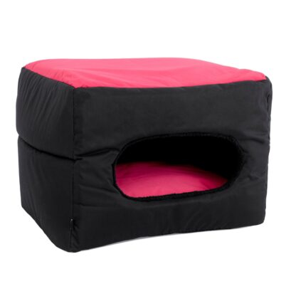 10805757 dogman badd koja buddy 2 i 1 svart rosa