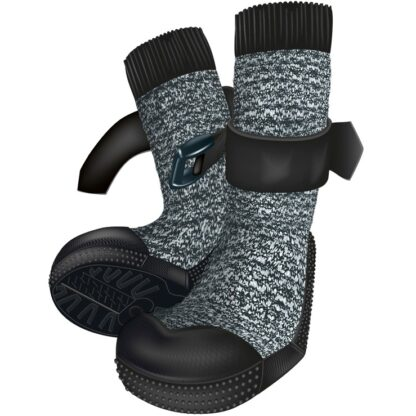 4219441 4219447 trixie hundskor walker socks 2 pack gra svart wpp1605778323580