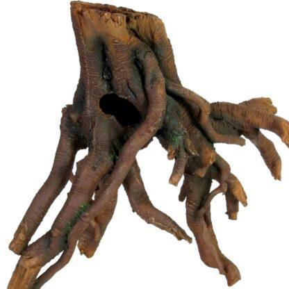 428816 trixie mangrove fuskrot plast brun 22cm wpp1607335785611