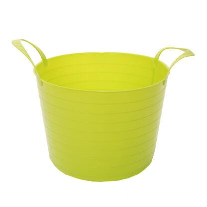 17599866 globus plastkorg v trug flexi gul