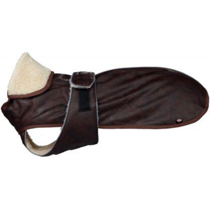 trixie chambery hundtacke skinnjacka brun