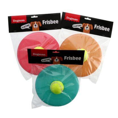 10333449 dogman frisbee med boll plast grupp