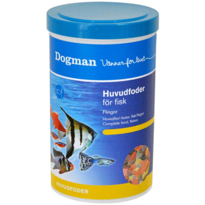 10949002 dogman huvudfoder for fisk 1liter flingor wpp1621434867218