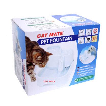 41335 petmate drickfontan vattenautomat 2l plast vit 2 wpp1625223024145